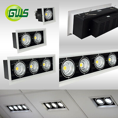Adjustable Recessed LED Downlight Ceiling Retail Commercial Spotlights