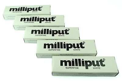 5 Packs Superfine White Milliput Epoxy Putty Modelling Sculpting Ceramics X1018d