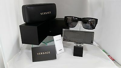 47cd24b18747 NEW VERSACE 4296 Sunglasses GB1 81 Black AUTHORIZED DEALER -  139.11 ...