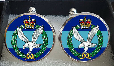 Army Air Corps Regiment Cufflinks - A Great Gift