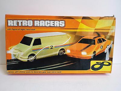 Rare Retro Racers Slot Car Set Cf Bedford & Ford Car Mint Unused    (Wm202)