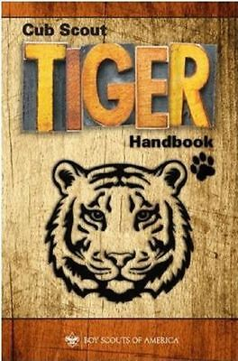 Newest Edition The Official Cub Scout Tiger Handbook Perfect Bound New