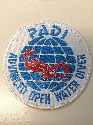 PADI Advanced Open Water Diver Cloth Patch
