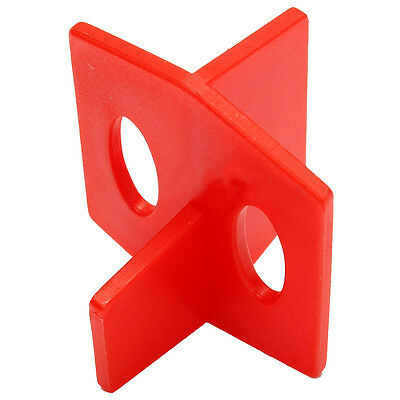 50pcs 2mm Tile Leveling System 3 Side Tile Spacer - Cross And T Wall Floor X2H4