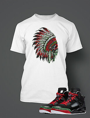 7e8205e882b9 Chieftain T Shirt to Match Air Jordan Jordan Spizike Shoe Men s Graphic Tee