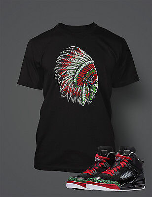 8e4ed6cc9f11 Chieftan T Shirt to Match Air Jordan Jordan Spizike Shoe Men s Graphic Tee