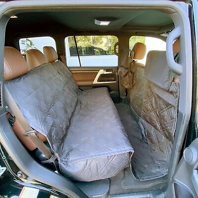 Pet Seat cover for pets in grey