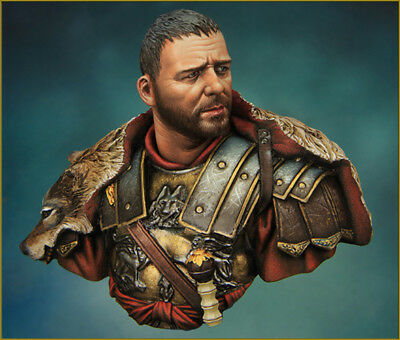 █ 1/10 Resin Gladiator Maximus Russell Crowe Figure Bust Unpainted TS069