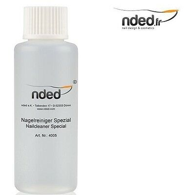 Dégraissant D'ongle Nded 100 Ml Nettoyant Vernis Gel Uv Mancure Nail Cleaner