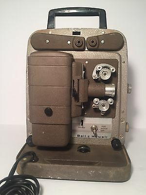 Vintage Bell and Howell 8mm Movie Projector Model 254 RS