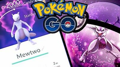 Pokemon Go Legendary MEWTWO Catching Service 100% BAN FREE!