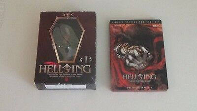 Hellsing Ultimate Series 2-Disc Steelbook and Arucard Figurine
