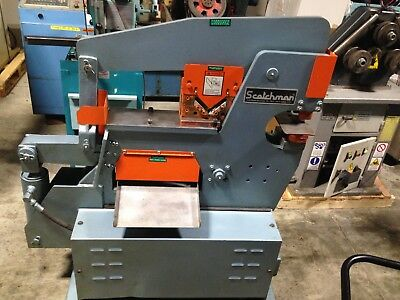 Nice! Pre-Owned Scotchman 40 Ton Ironworker