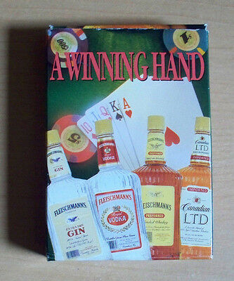 Fleischmann's Spirits - A Winning Hand Poker Size - Pack of Playing Cards
