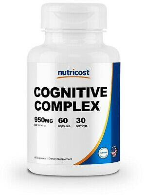 Nutricost Cognitive Complex (950mg) (60 Capsules) - Brain Function Supplement