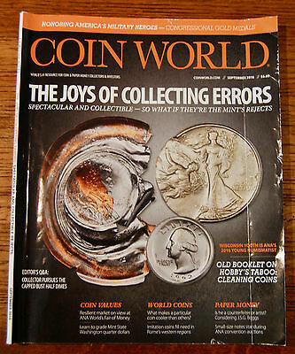 Coin World Magazine - The Joys of Collecting Errors  Edition.