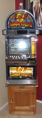 IGT Lucky Larry's LOBSTERMANIA Upright Touch Screen VIDEO Slot Machine w/ Stand
