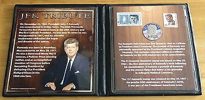 JFK Collectible Coin and Stamp Tribute 2013