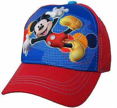 Disney Mickey Mouse Clubhouse Red 3D Pop Baseball Cap - Boys Kids Toddlers