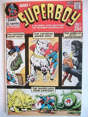 Superboy # 174 (Giant Size Issue, June 1971) Fn