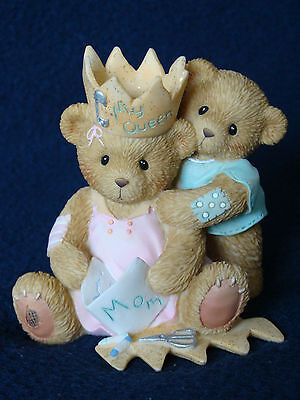 Cherished Teddies - Mother's Day -Mom/Child with Homemade Crown- 4005161 - 2005