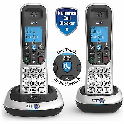 BT 2200 Cordless Telephone - Twin.