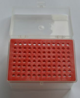1pcs 10ul Microliter Pipette Pipettor Tips Rack Holder Box Case 96 Holes for Lab