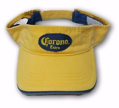 Corona Extra Beer Adult Distressed Sunwashed Vintage Sun Visor Adjustable Hat