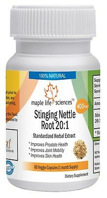 Stinging Nettle Root 20:1 Extract Capsules For Prostate Health Skin Health