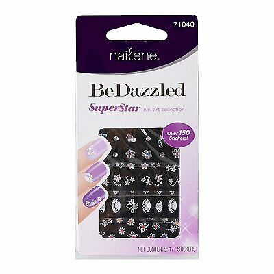 NAILENE BE DAZZLED SUPERSTAR NAIL ART 177 Stickers 3D - BUY 1 GET 1 20% OFF