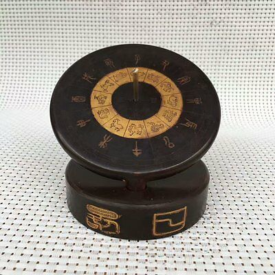 Rare Beautiful China Ancient Timer Calculagraph Sundial