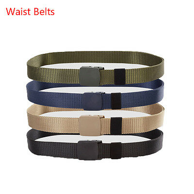 130CM Length Outdoor Nylon Waist Belts Molle Automatic Buckle Tactical Belt bb
