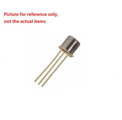 3 pcs RIZ BSJ63 Silicon NPN transistor TO-18 15V 0.2A NOS Gold plated