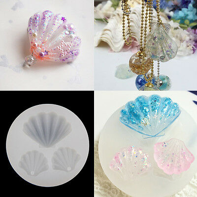 Scallop SOAP MOULD Resin/Candles/Melts Crafts Silicone New Hand Crafted Mold