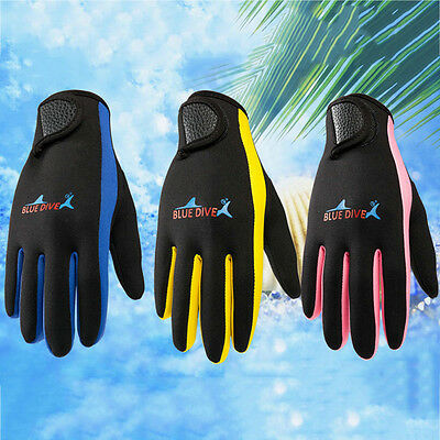 Colorful  Neoprene Swim Swimming Gloves Diving Scuba Snorkeling Warm Cold-proof