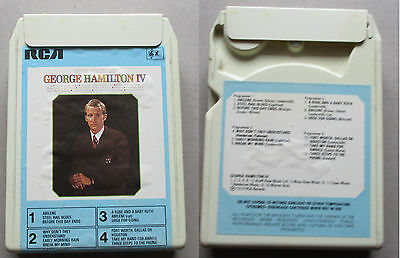 The Best off George Hamilton iv  8 TRACK CARTRIDGE tape RCA MP8 213