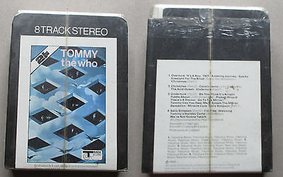 Tommy The Who 8 track sealed Track records 3876 001 sealed very rare