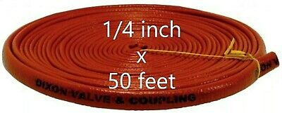 DIXON 0610-4 Fire Jacket for Hose 1/4 inch x 50'