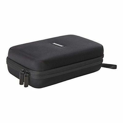 Caseling Universal Electronics/Accessories Hard Travel Carrying Case Bag (Black)