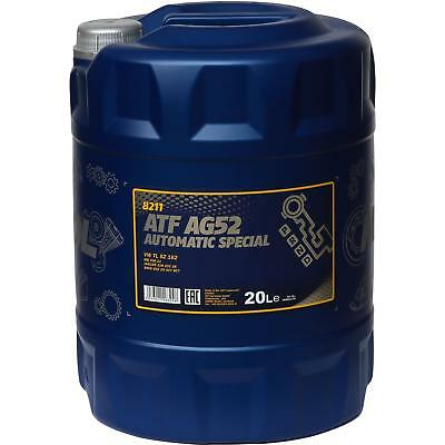 20 Liter GENUINE Mannol Automatic Transmission Fluid ATF AG52 Automatic Special
