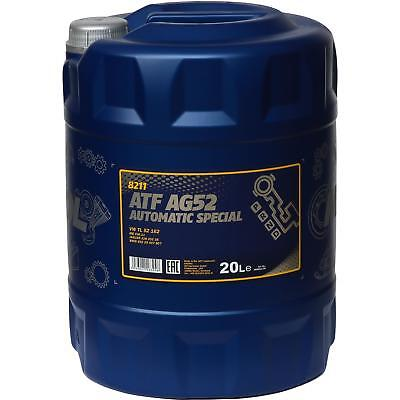 20 Litre Genuine Mannol Automatic Transmission Fluid ATF AG52 Automatic Special