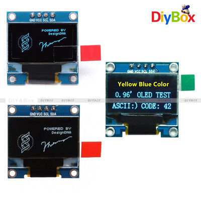 "0.96"" I2C IIC Serial 128X64 OLED LCD LED Display Module SSD1306 GND for Arduino"