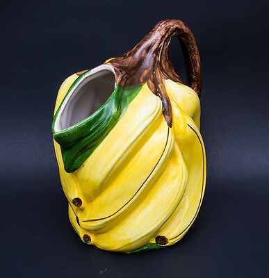 Ceramic water pitcher - Vintage - Banana Shaped