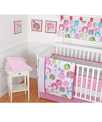 "Sumersault ""Sweet Bear"" 10-Piece Crib Set"