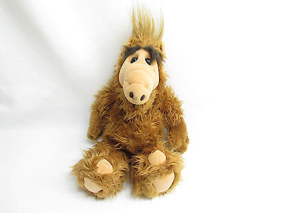 Vtg 80's Alf Stuffed Plush Doll 18""