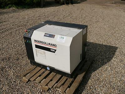 Used Ingersoll Rand ML11 400 volt 3 phase rotary screw compressor. Year 2001.
