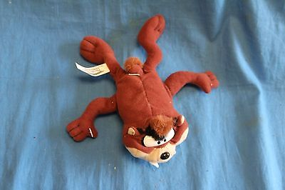 "Play by Play Taz Tasmanian Devil Plush 7"" Stuffed Toy Looney Tunes 1997"