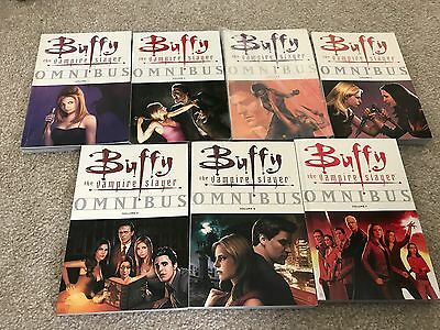 BUFFY THE VAMPIRE SLAYER OMNIBUS Complete Collection