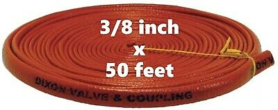 DIXON 1010-6 Fire Jacket for Hose 3/8 inch x 50'