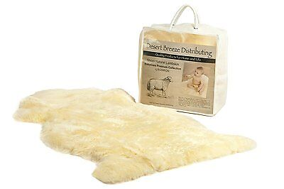 Zealand Lambskin for Baby - 100% Natural and Luxuriously Soft Shorn Wool - year